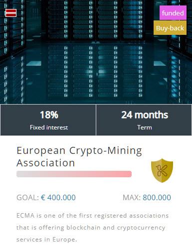 European Crypto-Mining Association project