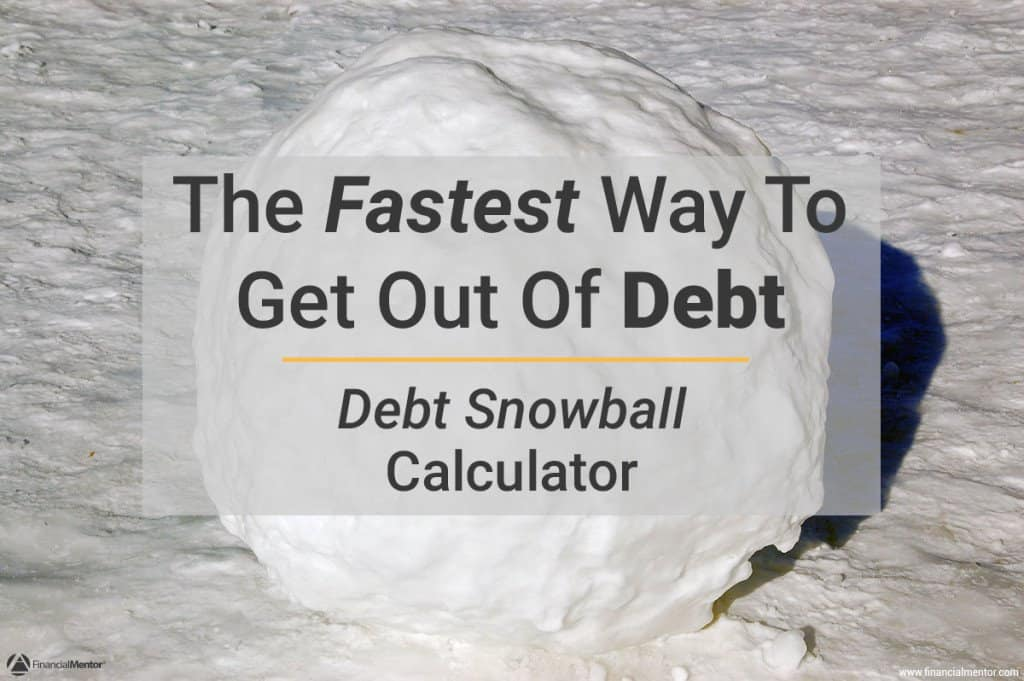 debt calculator snowball