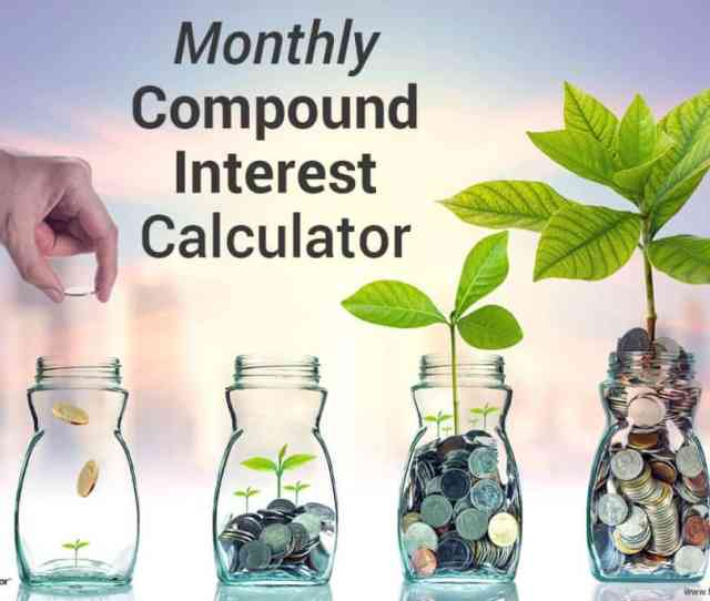 Monthly Compound Interest Calculator Image