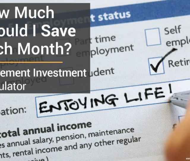 Use This Retirement Investment Calculator To Find