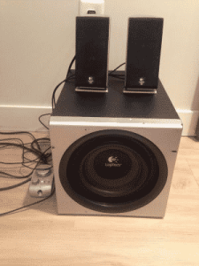 trash find speakers