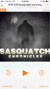 My latest obsession: Sasquatch Chronicles