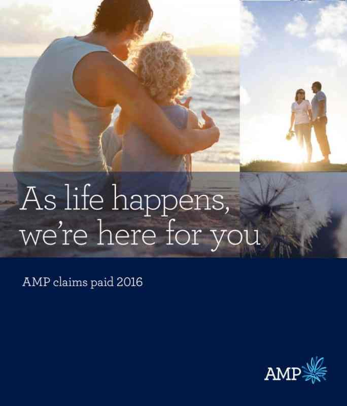AMP claims paid 2016