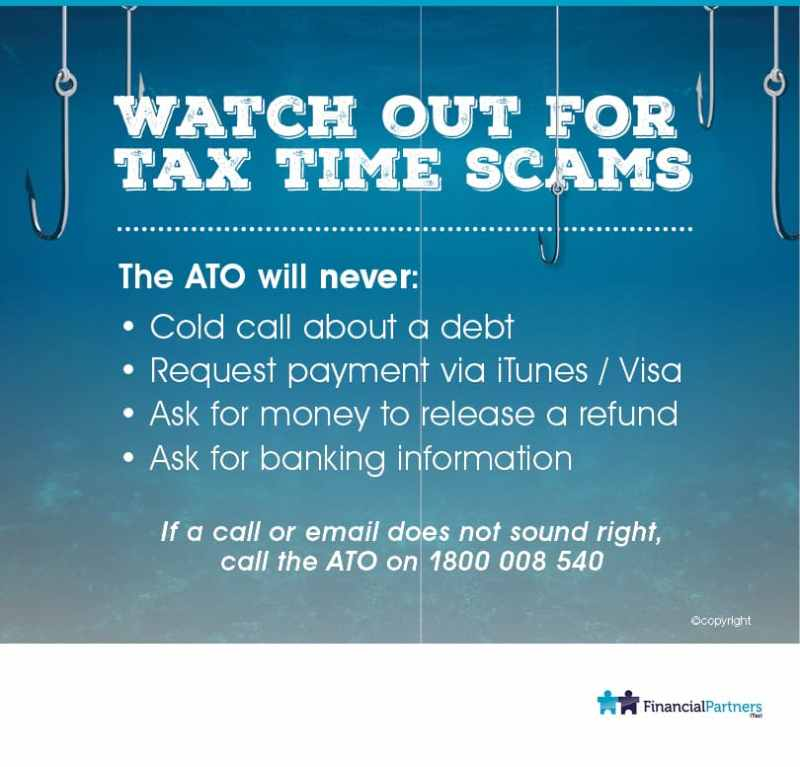 Watch out for Tax Time Scams!