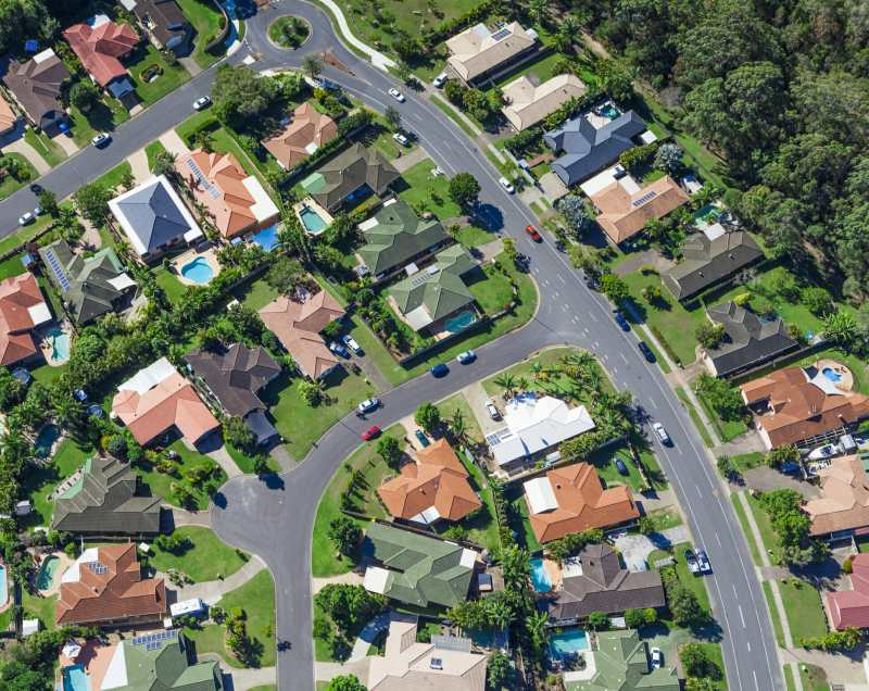 What could trigger a property price correction?