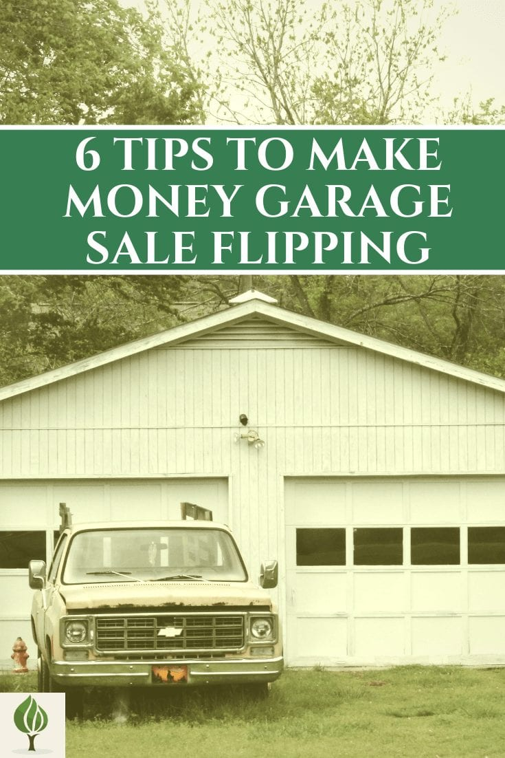 Garage sale flipping