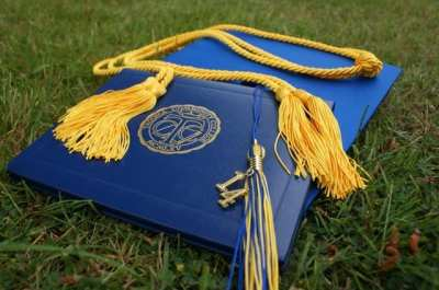 The cap from a tuition free college graduate