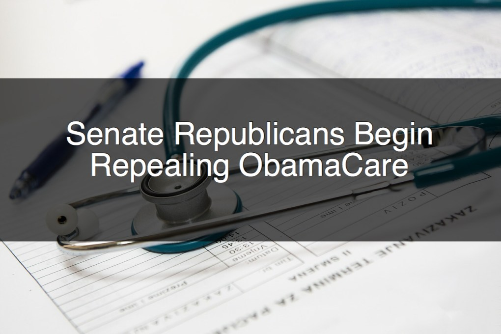 Republicans Begin Repealing ObamaCare