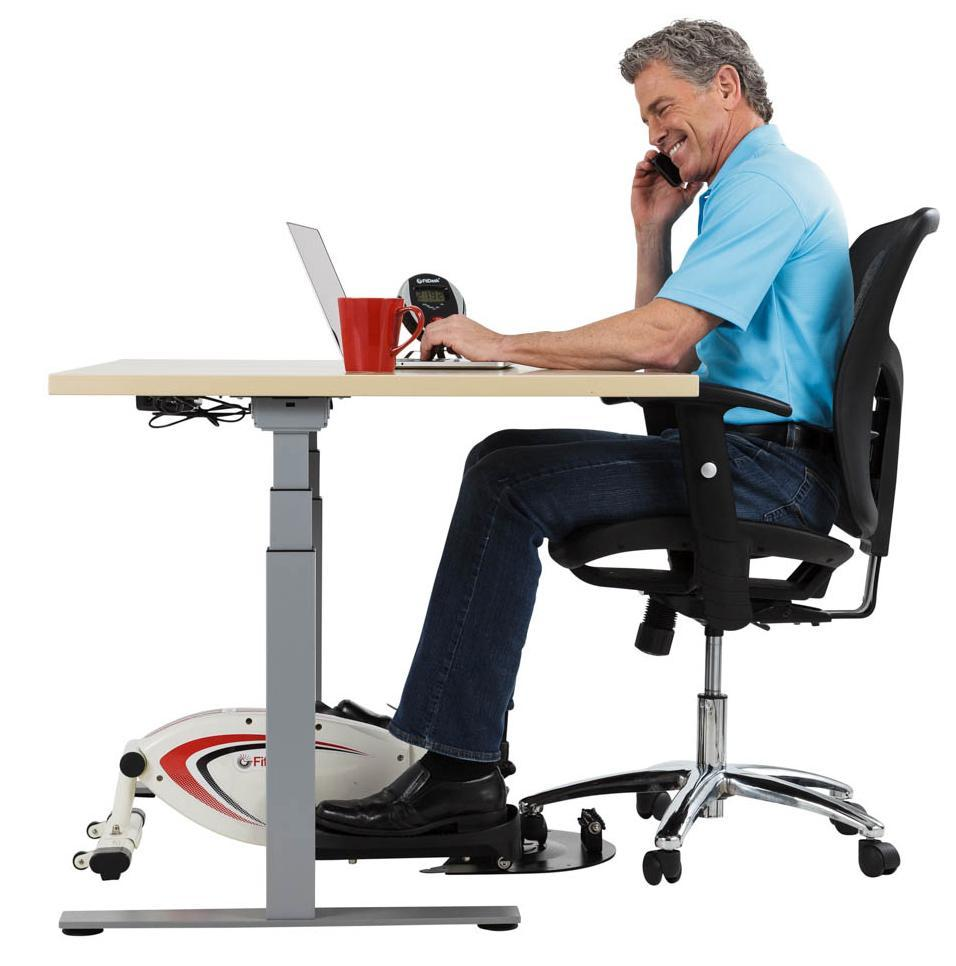portable study chair chairs for church sanctuary canada under desk pedal device could reap health benefits | financial tribune