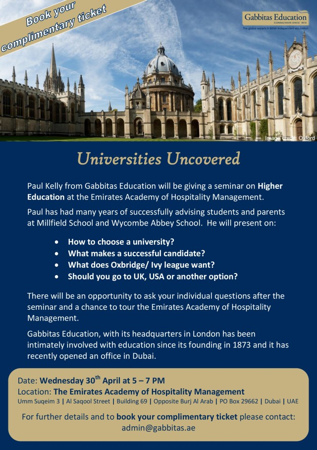 Universities Uncovered (2)