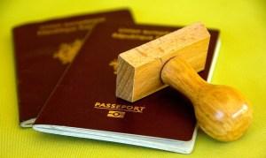 passport stamp visa