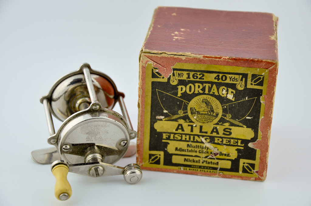 Atlas Portage Reel in Box