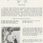 1931 Creek Chub Catalog