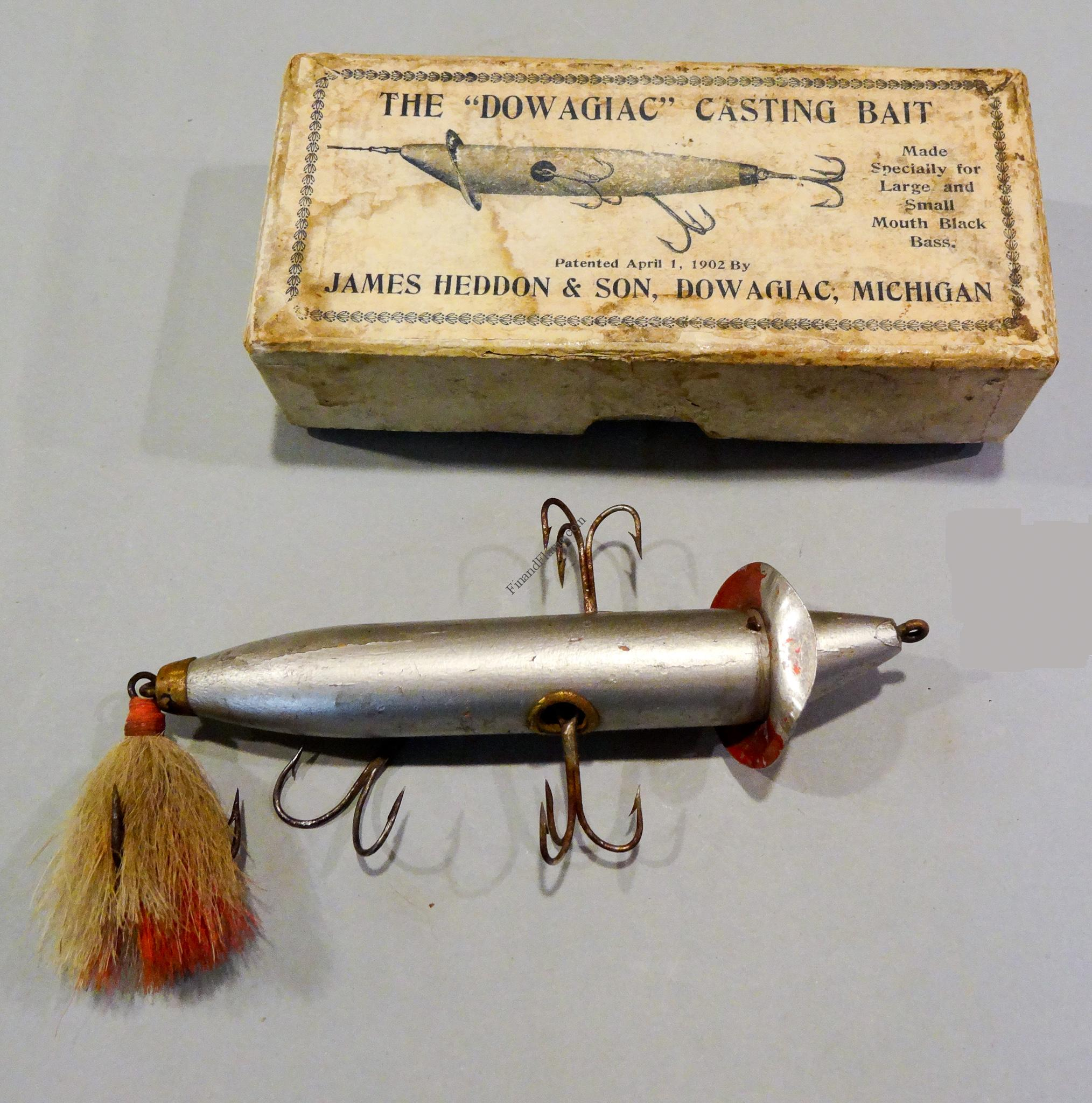 Heddon Lures Such as The Iconic Slopenose