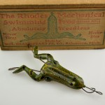 Rhodes Frog in Box Right View
