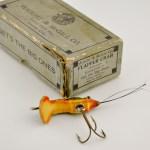 Flapper Crab Antique Lure Box End