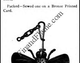 Pflueger May Bug Lure Ad