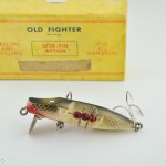 Black Bass Old Fighter Antique Lure