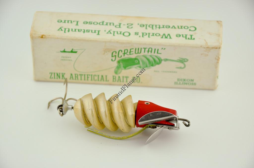 Zinc Screwtail Antique Lure