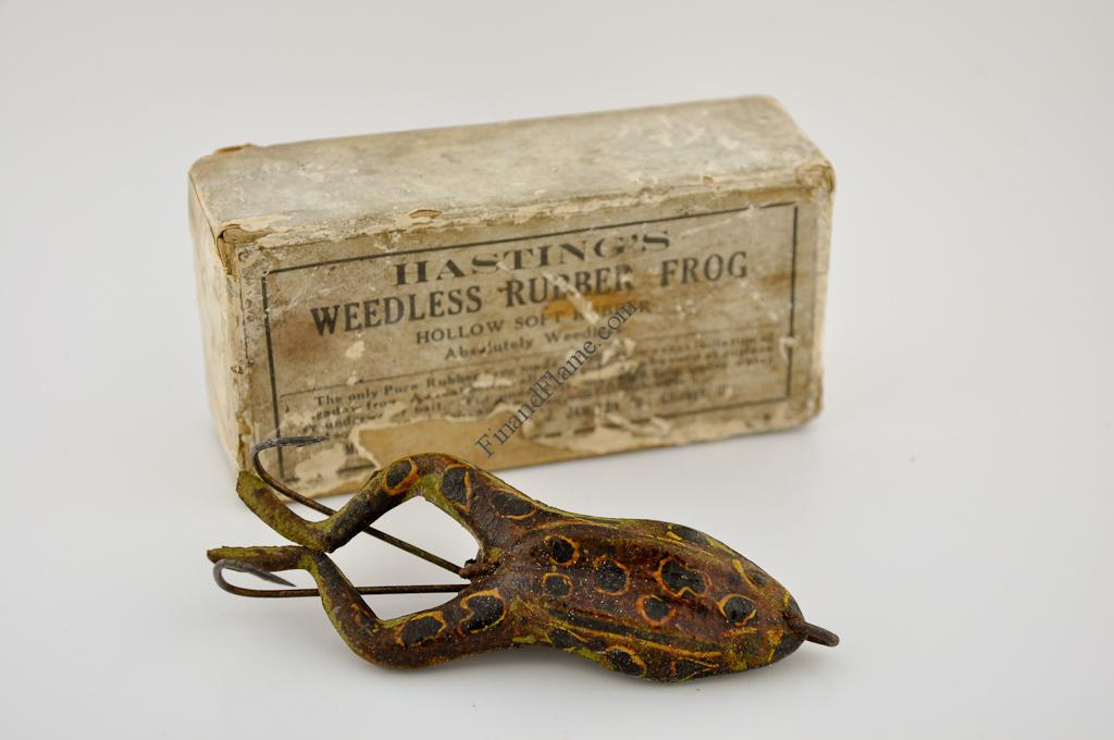 Hastings Frog Antique Lure