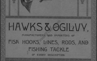 Hawks Ogilvy 1889 Fishing Tackle Catalog