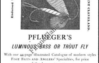 Pflueger Antique Fly Lure 1888