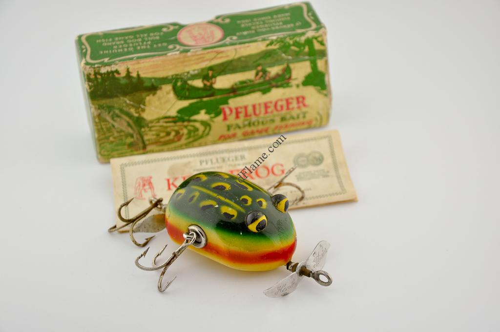Pflueger Kent Floater Frog Lure Wood Eye