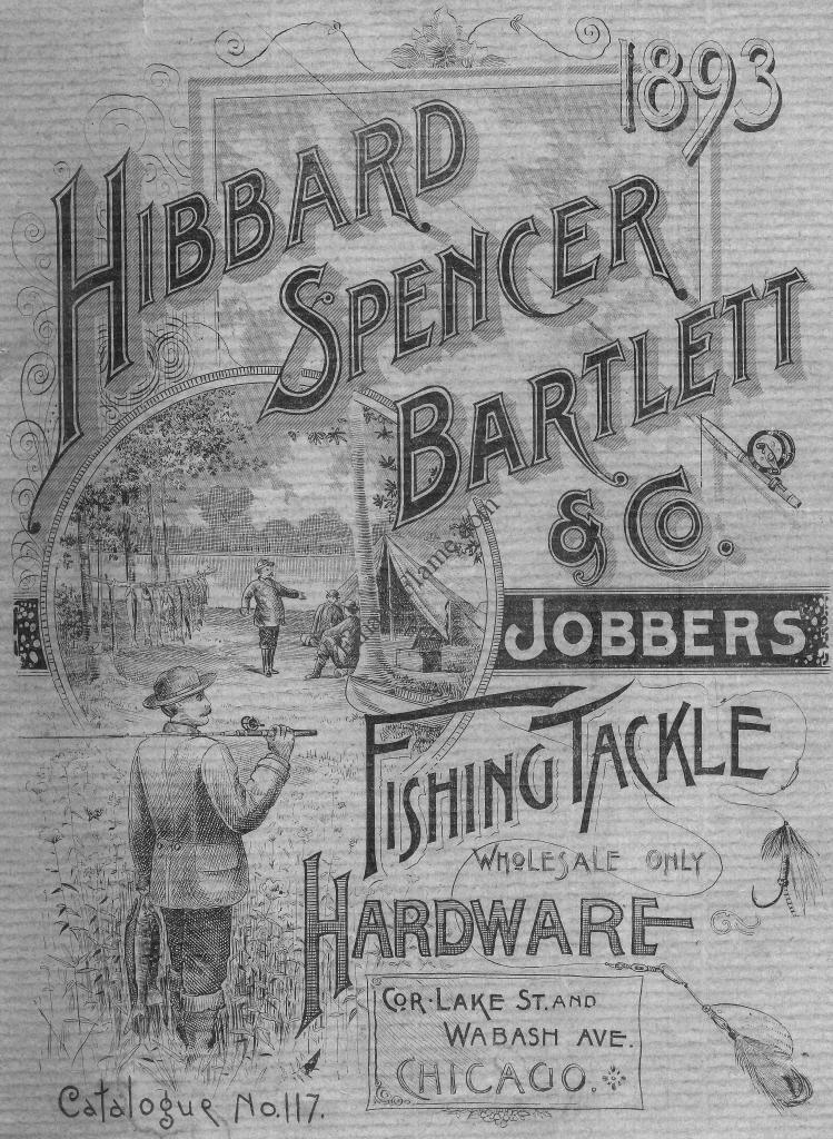 Hibbard Spencer Bartlett Fishing Catalog 1893