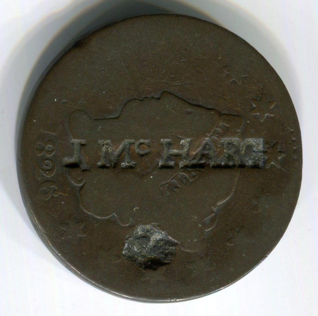 JB McHarg Civil War Token