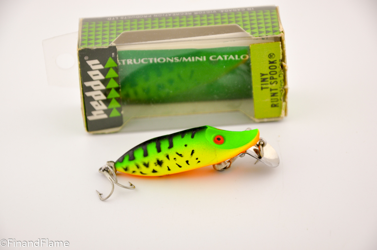 Green Crawdad Tiny River Runt Lure