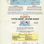Clark Water Scout Lure Chart