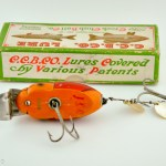 Creek Chub Beetle Antique Fishing Lure