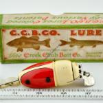 Red and White Beetle Lure