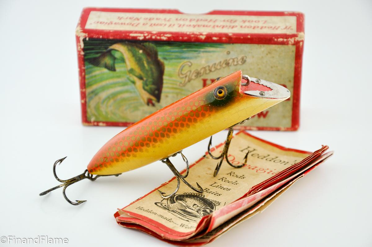 Heddon Goldfish Basser Antique Fishing Lure
