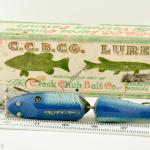 Blue Flash Jointed Snook Antique Lure