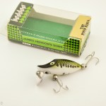 Heddon Baby Bass Tiny Runt Antique Lure in Box