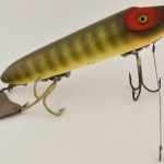 Natural Scale Heddon Muskie Flap Tail Lure