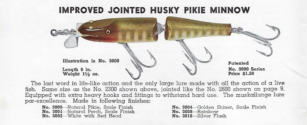 Creek Chub Jointed Husky Pikie Lure