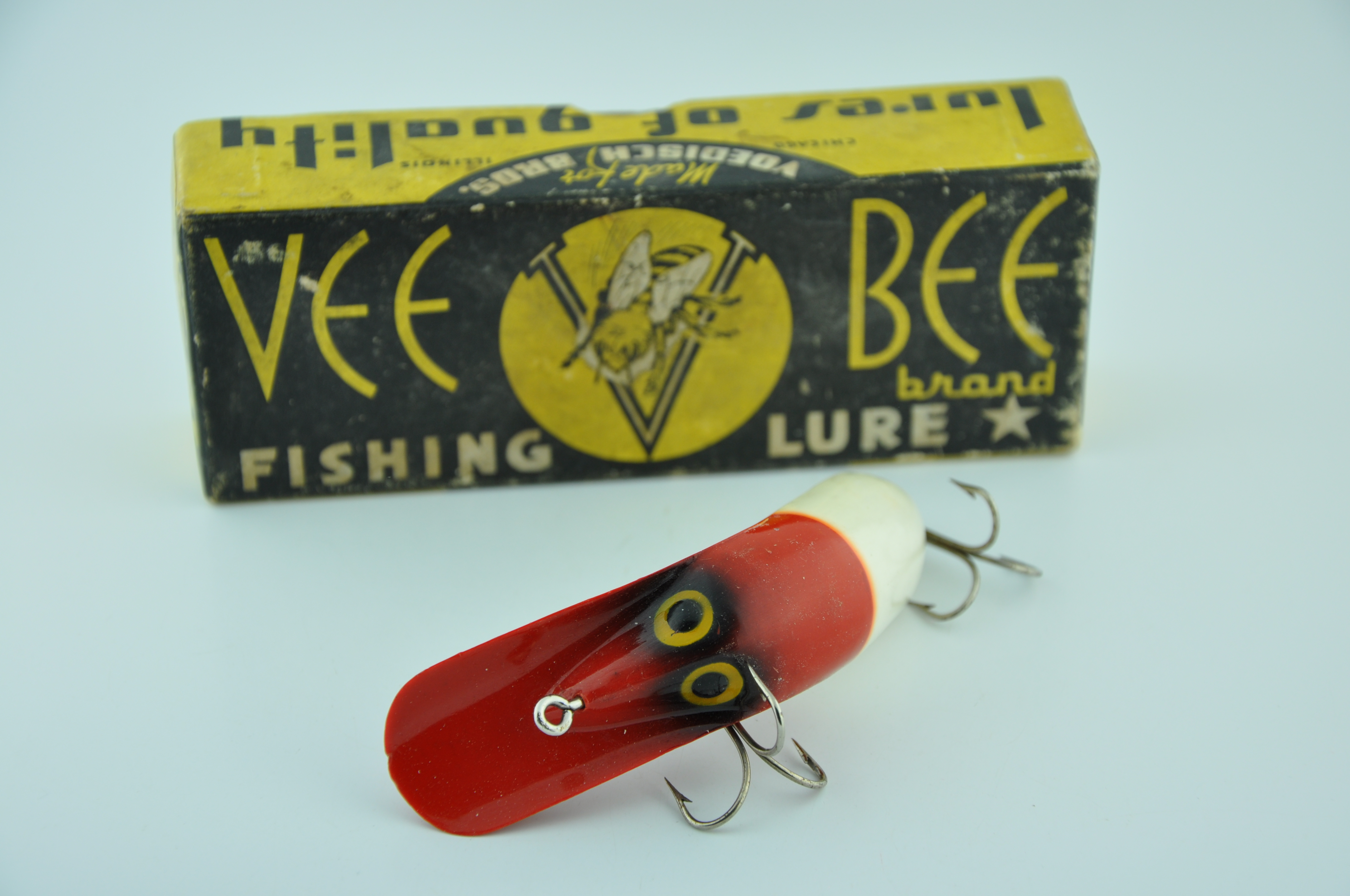Vee Bug Antique Fishing Lure