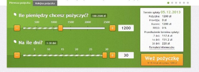 vivus kalkulator kosztów pożyczki