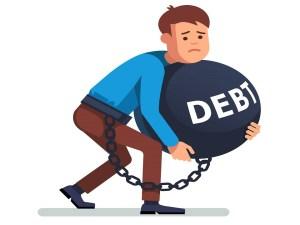 Tengo deudas y no puedo pagar