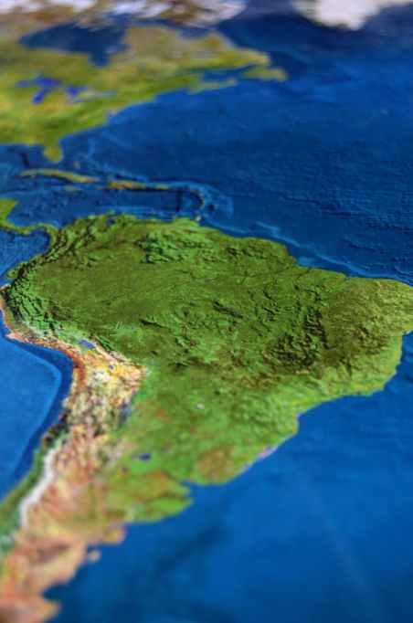map atlas south america