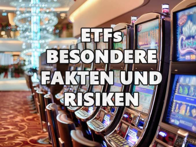 Risiken bei ETFs bitte diese 5 Fakten besonders beachten