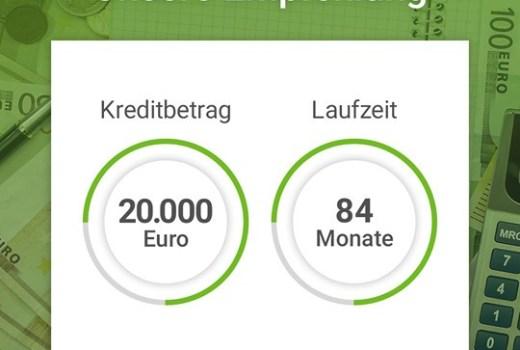 Jetzt sofort 5000 Euro Kredit.