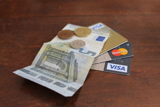Kreditlimit mit Kredikarte erweitern.