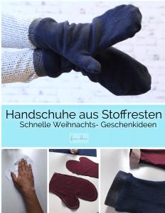 Handschuh aus Stoffresten nähen_4