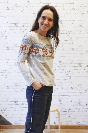 JustMe Norweger Damen Pullover_7