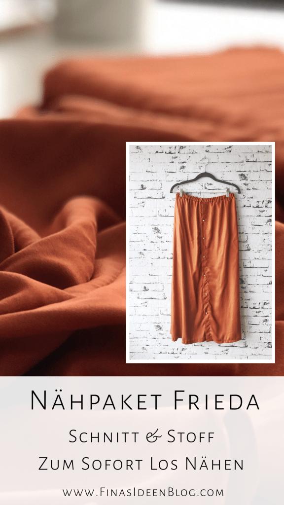 Frieda Nähpaket Finasideen Atelier Brunette