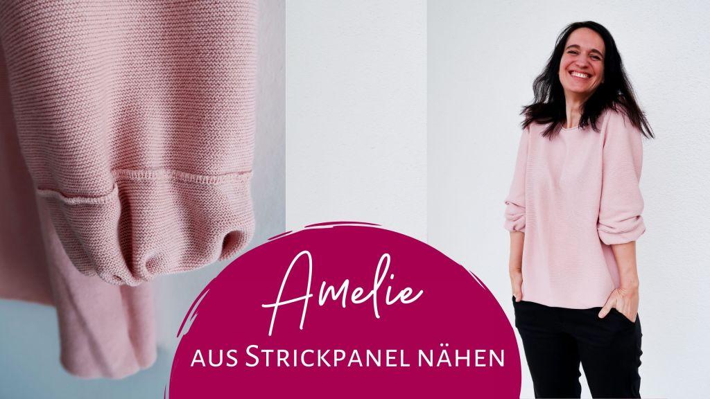 Pullover Amelie aus Strickpanel nähen