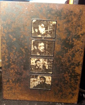 Revolutionary art 2 by my long-time dear Tucson friend, Diana Rix - ¡Que Viva el Ché!